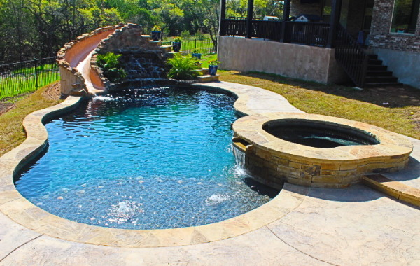 Latest projects cyrstal springs custom pools for Affordable pools ri